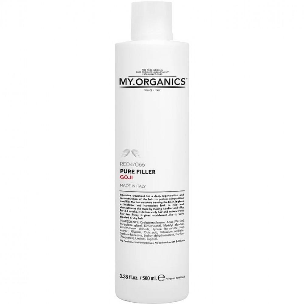 Восстанавливающий филлер для интенсивного ухода - My.Organics Pure Filler