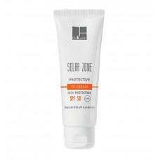 Солнцезащитный CC-крем с коррекцией тона кожи SPF 50 - Dr. Kadir Solar Zone Protective CC Cream SPF 50+