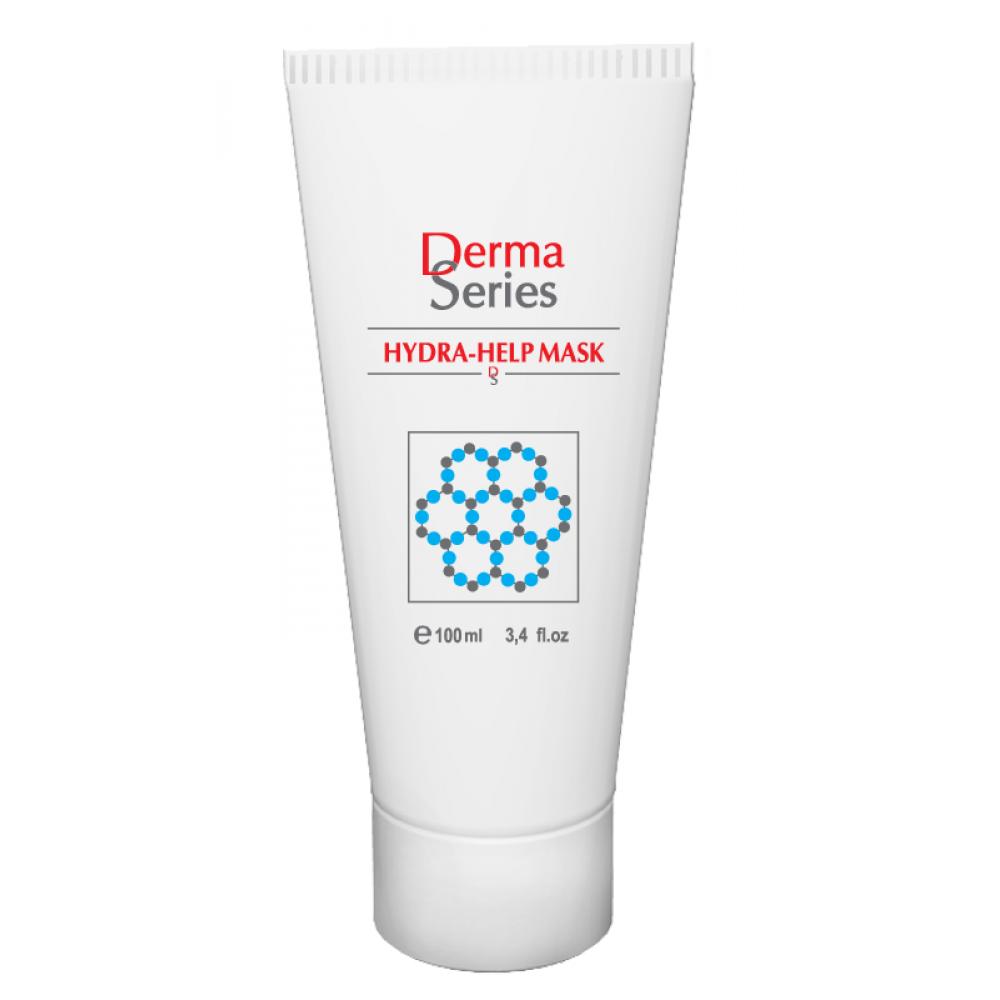 Восстанавливающая маска для максимального увлажнения - Derma Series Hydra help mask