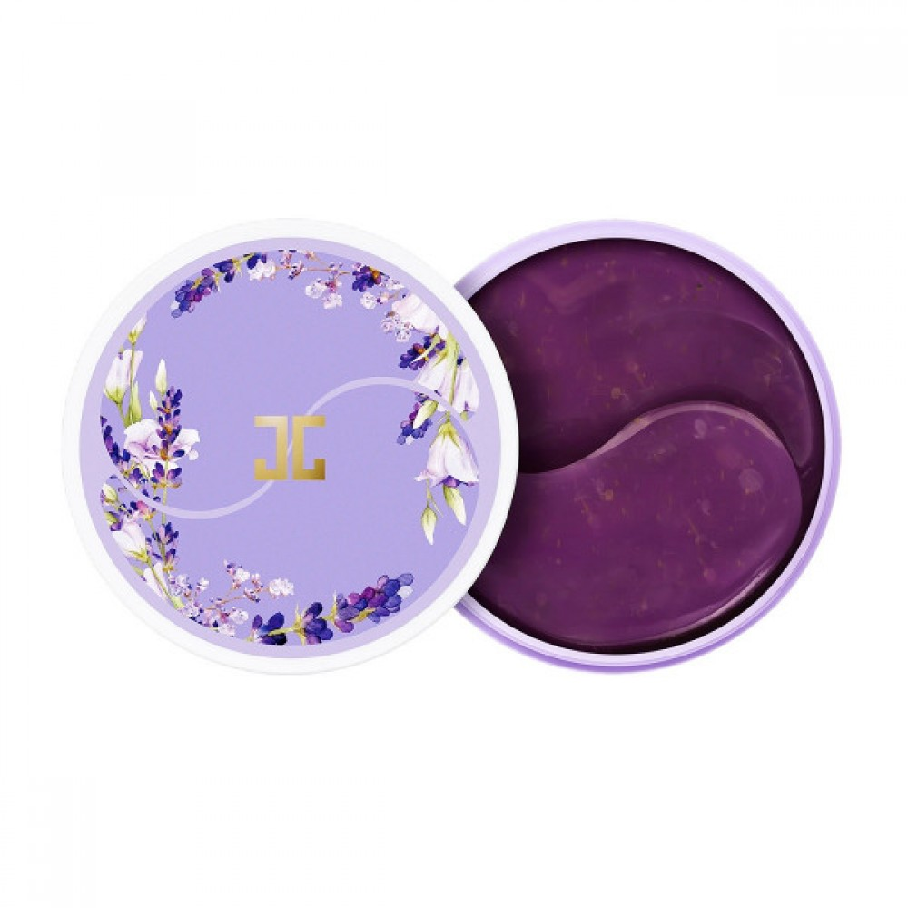Гидрогелевые патчи для глаз с экстрактом лаванды - Jayjun Lavender Tea Eye Gel Patch