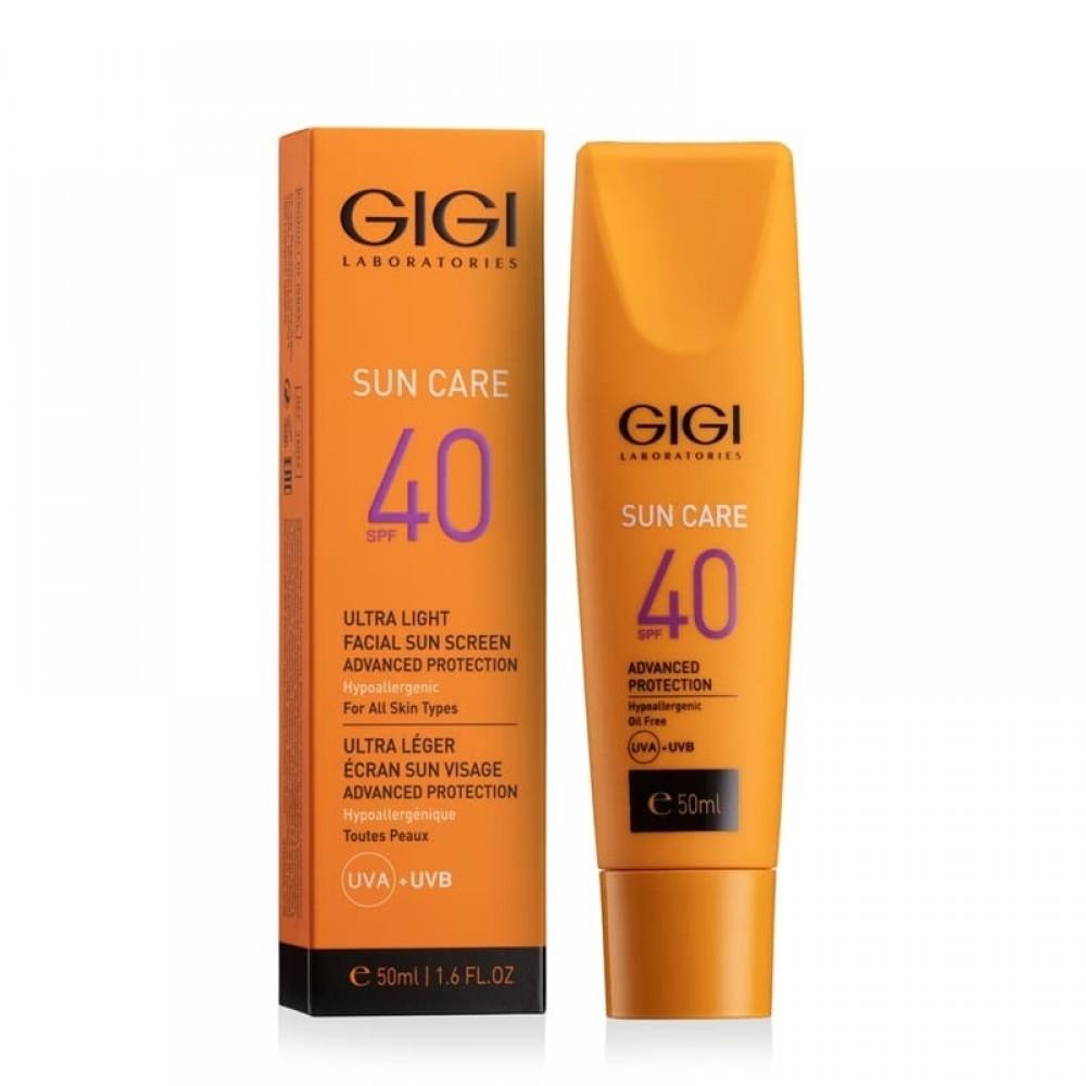 Ультра легкая защита SPF 40 - Gigi Sun Care Ultra Light Facial Sun Screen SPF-40