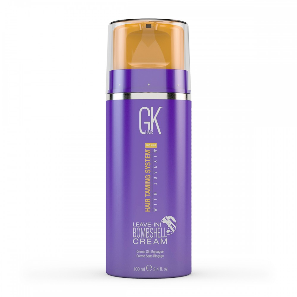 Незмивний крем зволоження для блонда - Global Keratin Leave-In Bombshell Cream