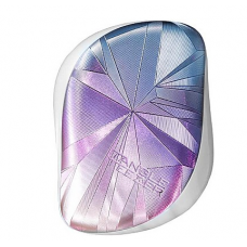Расческа для волос - Tangle Teezer Compact Styler Smashed Holo Blue