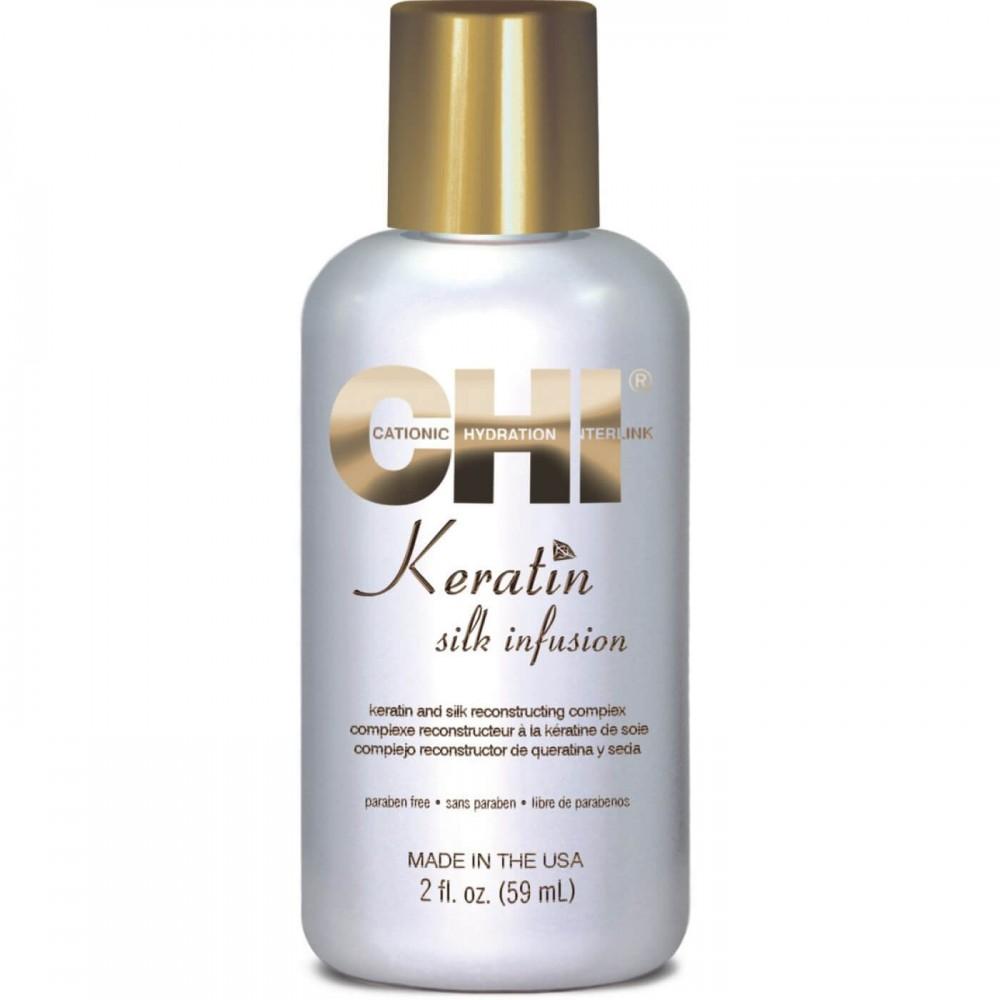 Жидкий шелк - CHI Keratin Silk Infusion