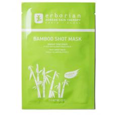 Зволожуюча тканинна маска для обличчя Бамбук - Erborian Bamboo Shot Mask