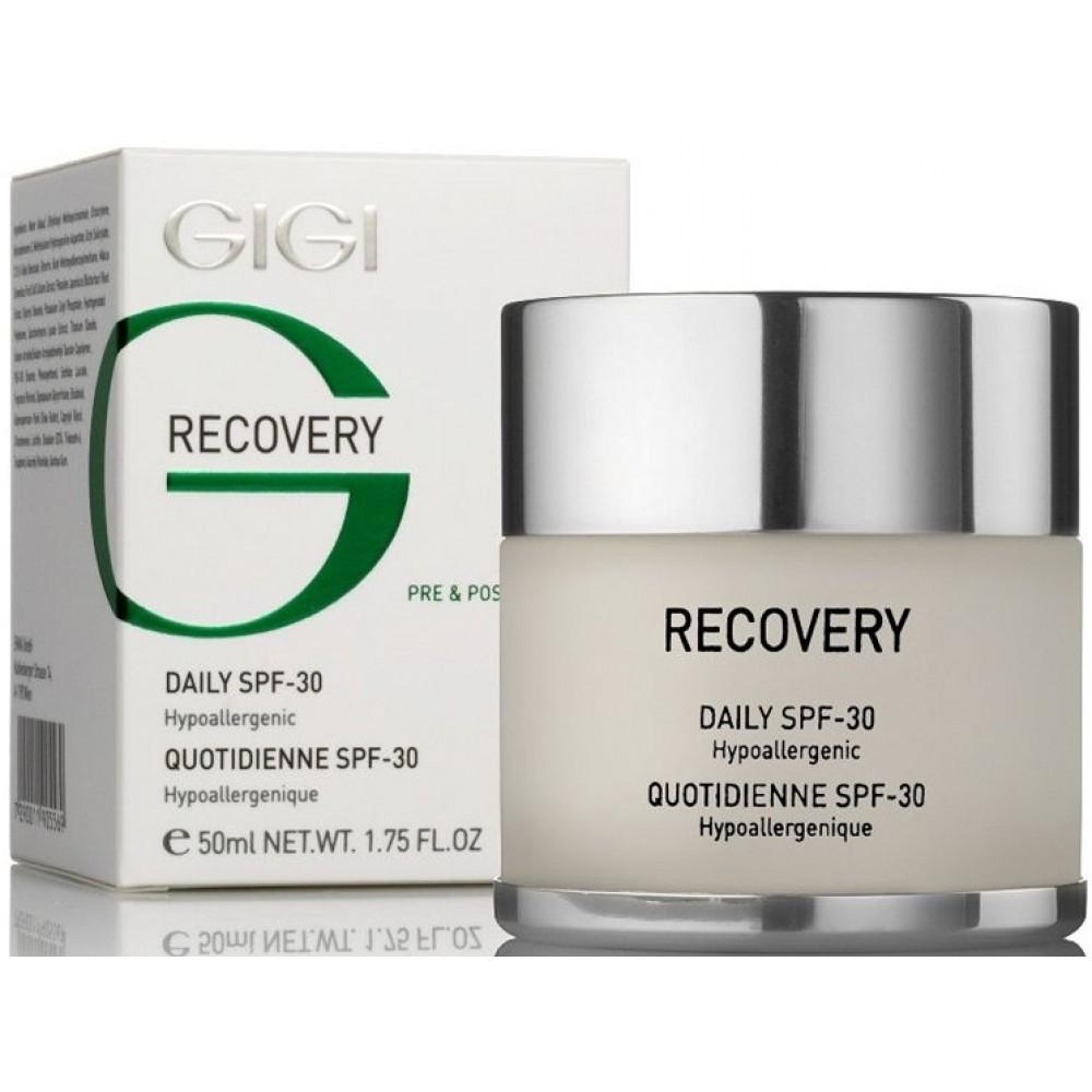 Дневной восстанавливающий защитный крем - Gigi Recovery Daily Cream SPF-30