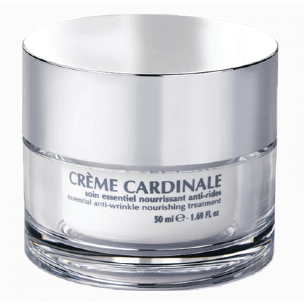 Защитный увлажняющий крем против морщин для сухой кожи - Simone Mahler Creme Cardinale