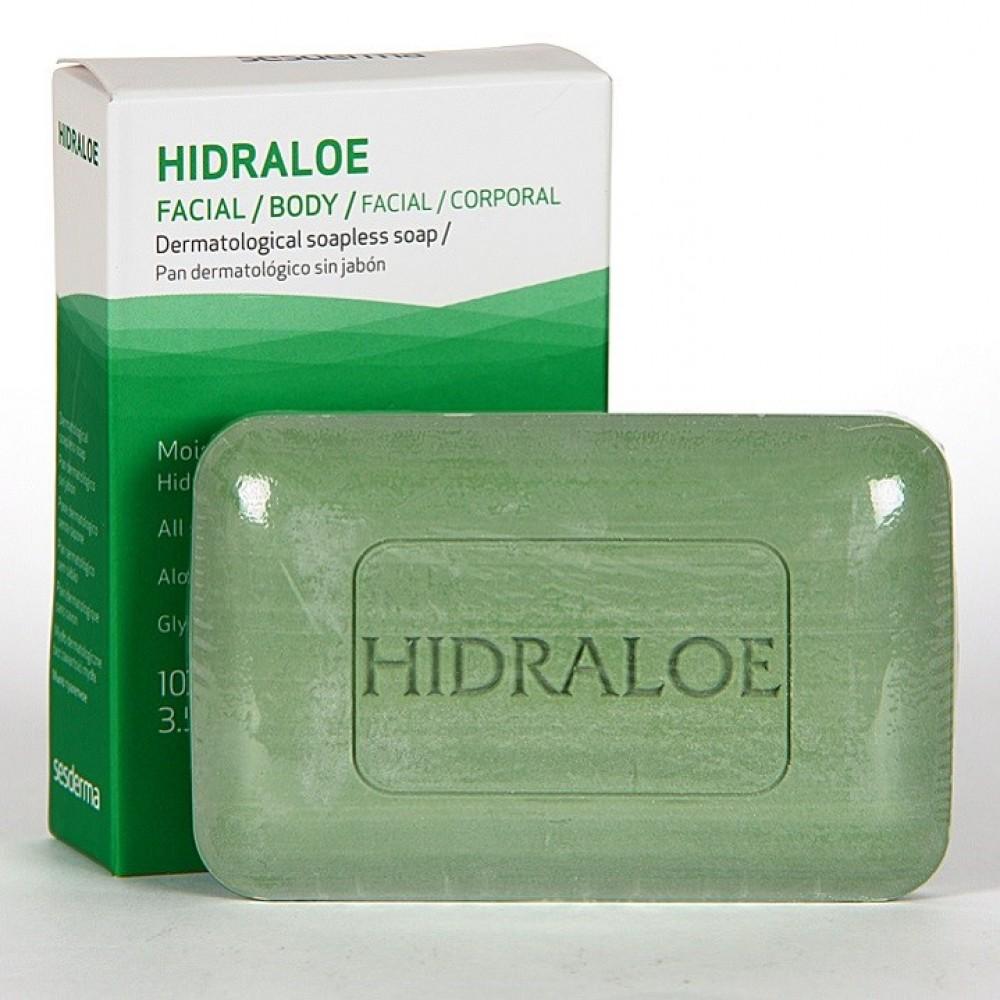 Дерматологическое мыло - SeSDerma Hidraloe Dermatological Bar