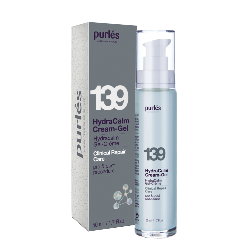 Гидроуспокаивающий крем-гель - Purles Clinical Repair Care 139 HydraCalm Cream-Gel