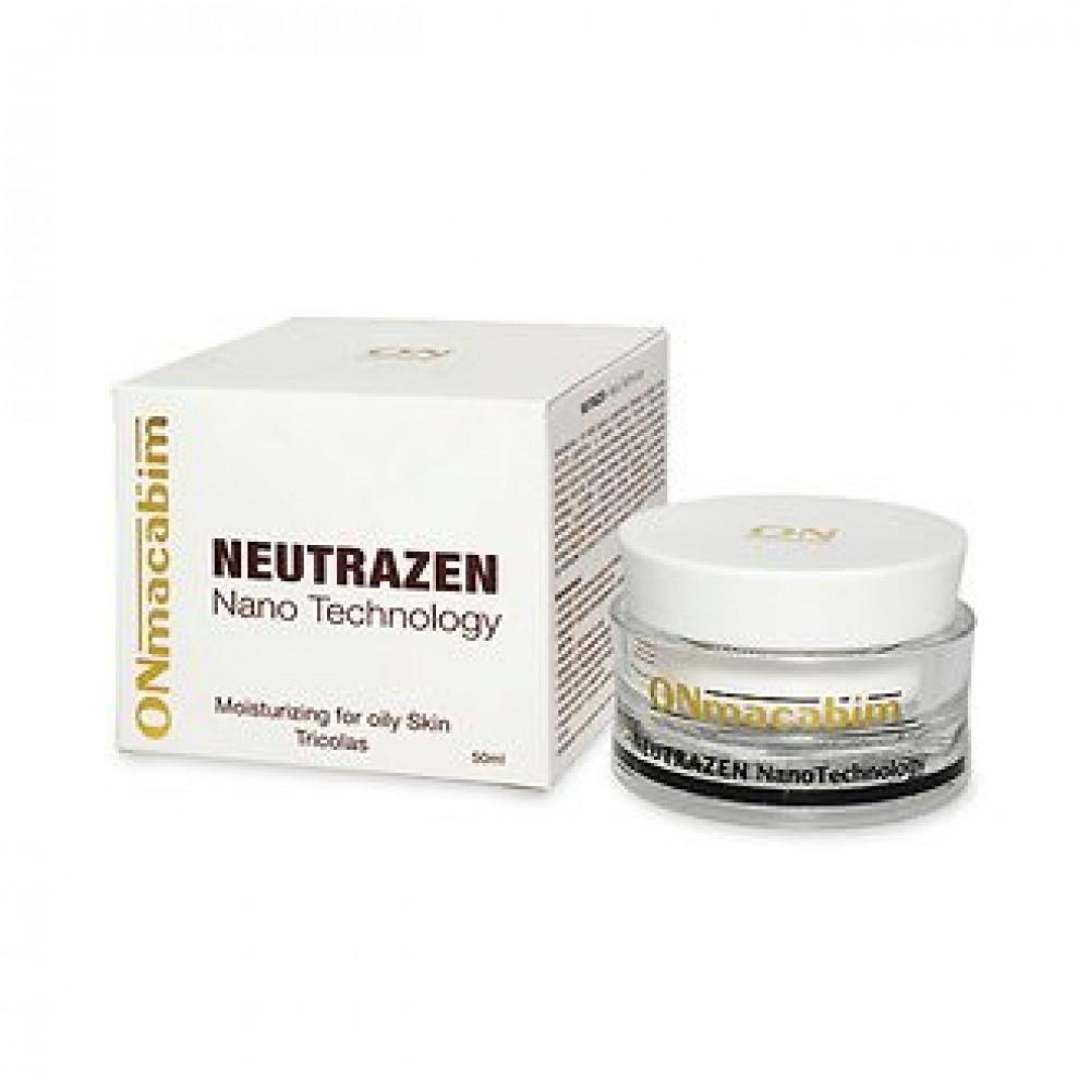 Дневной увлажняющий крем - ONmacabim Neutrazen Tricolas Moisturizing For Oily Skin SPF-15