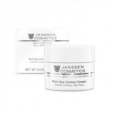 Питательный крем для кожи вокруг глаз - Janssen Cosmetics Rich Eye Contour Cream