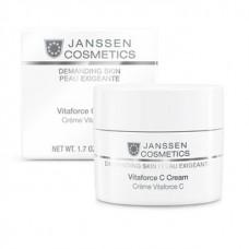 Регенирирующий крем с витамином С -  Janssen Cosmetics Skin Vitaforce C cream