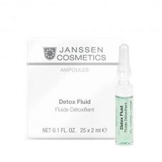 Детокс-сыворотка - Janssen Cosmetics Ampoules Detox Fluid