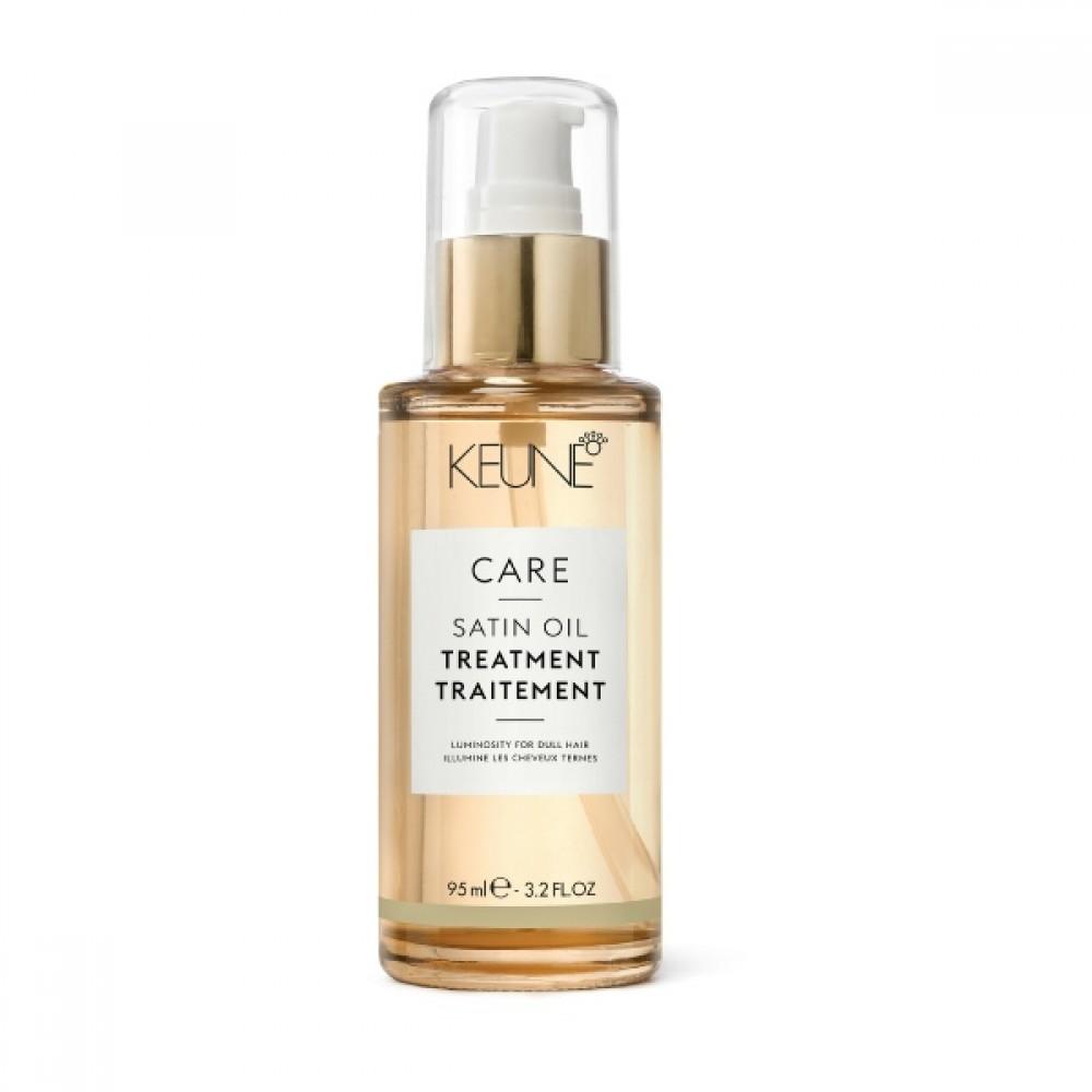 """Масло для тонкого і нормального волосся """"Шовковий догляд"""" - Keune Care Line Satin Oil Treatment Oil Fine Hair"""