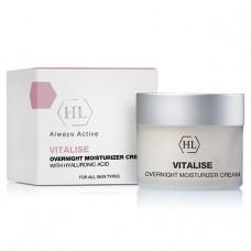 Ночной питательный крем для лица - Holy Land Cosmetics Vitalise Overnight Moisturizer Cream