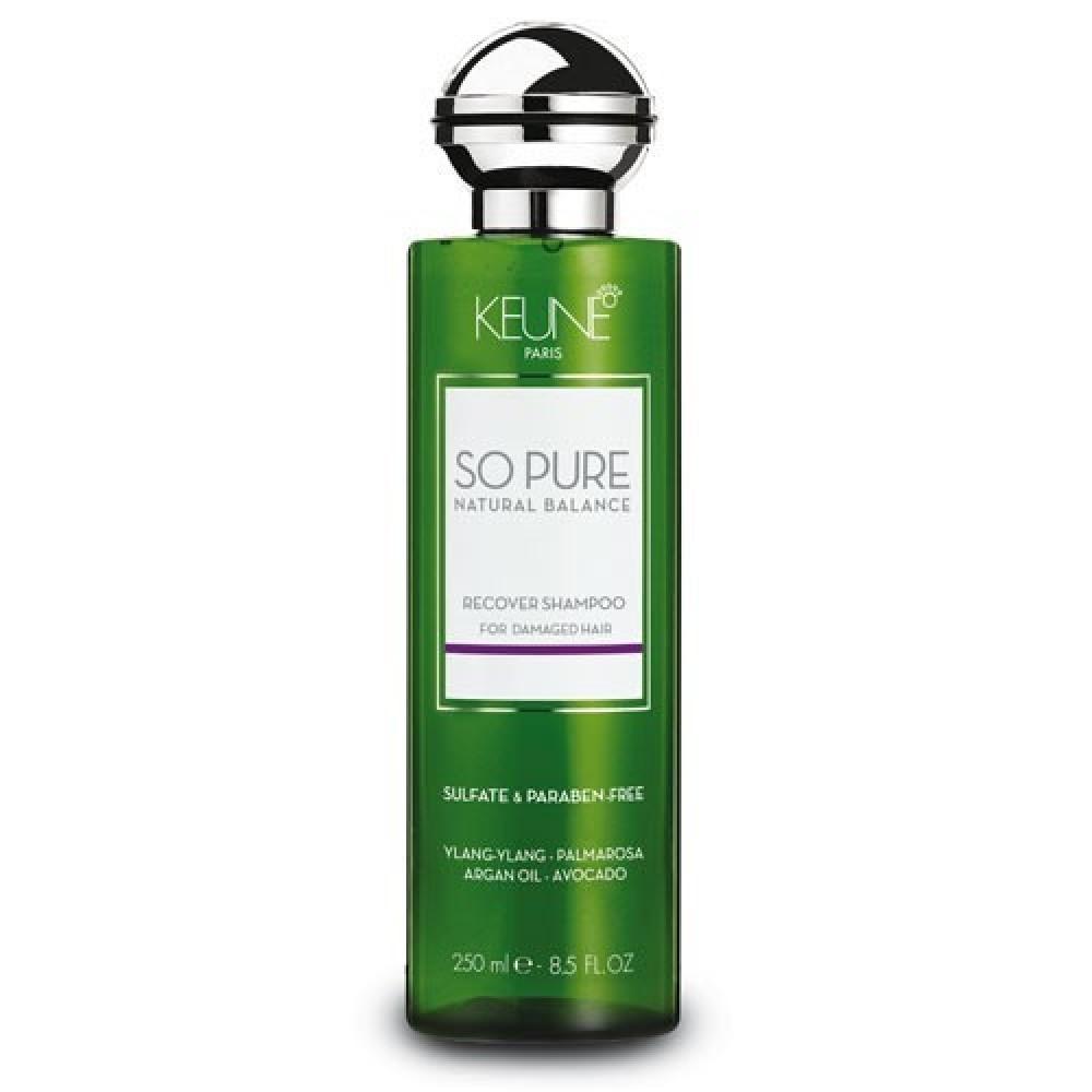 Восстанавливающий шампунь для волос - Keune So Pure Recover Shampoo