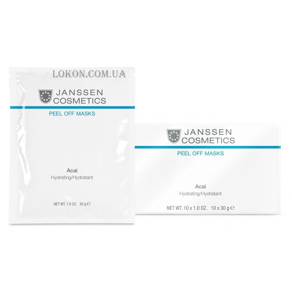 Альгинатная маска с асаи для сухой кожи - Janssen Cosmetics  Acai Hydrating to Dry Skin