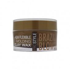 Моделирующая глинка для волос - BRAZILIAN blowout Acai Flexible Molding Clay Wax