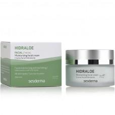 Увлажняющий крем для лица - SeSDerma Hidraloe Moisturizing Facial Cream