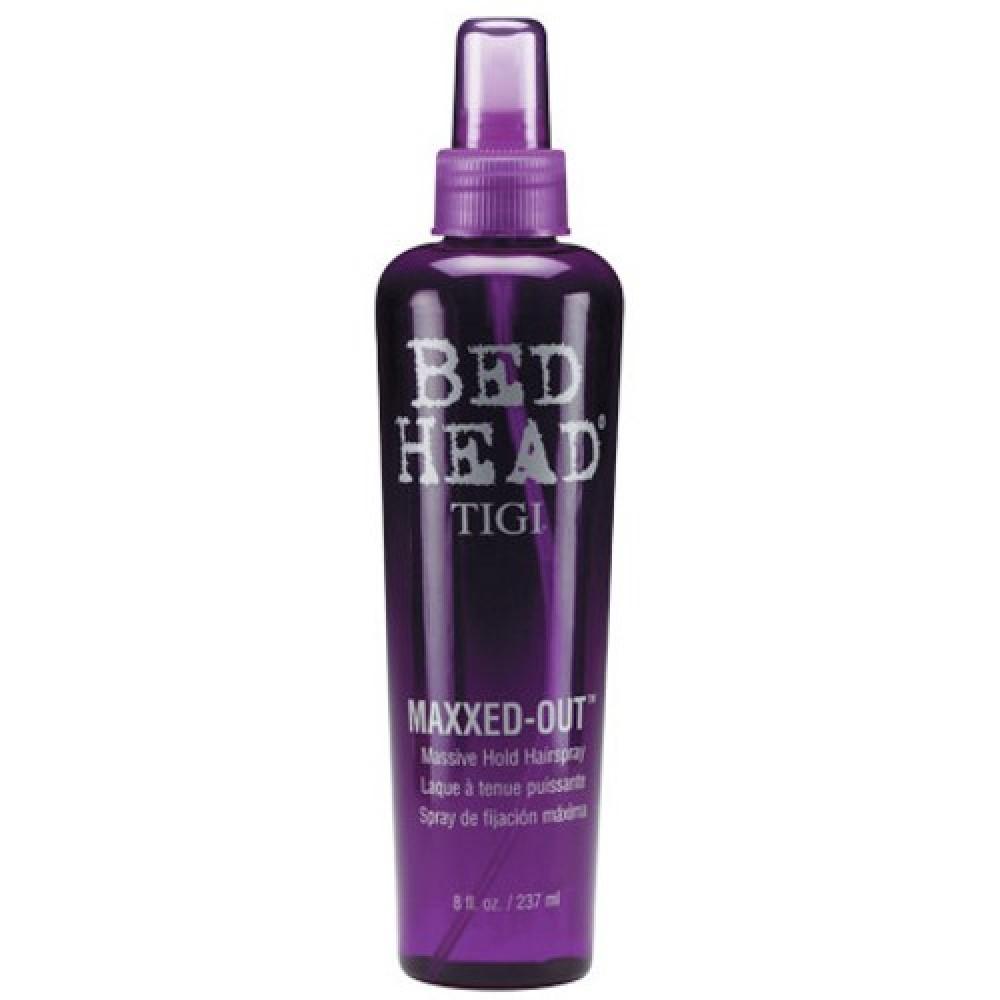 Жидкий лак для волос сильной фиксации - Tigi Maxxed-Out Massive Hold Hairspray