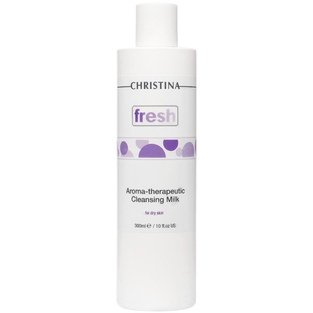 Арома-терапевтичне очищаюче молочко для сухої шкіри - Christina Fresh-Aroma Theraputic Cleansing Milk for dry skin