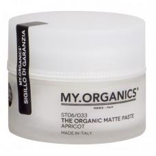 Моделирующая матирующая паста для волос  - My Organics My Matte Paste