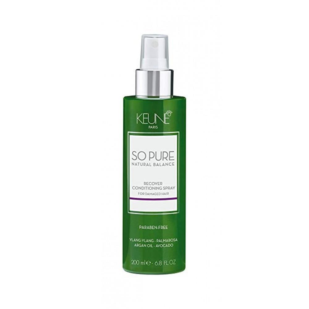 Восстанавливающий кондиционер-спрей - Keune So Pure Recover Conditioning Spray