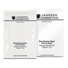Биоцеллюлозная маска для лица и шеи - Janssen Cosmetics Biocellulose Mask Face & Neck