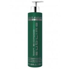 Шампунь с высоким содержанием увлажняющих и смягчающих масел - Abril et Nature Hyaluronic Bain Shampoo Sublime