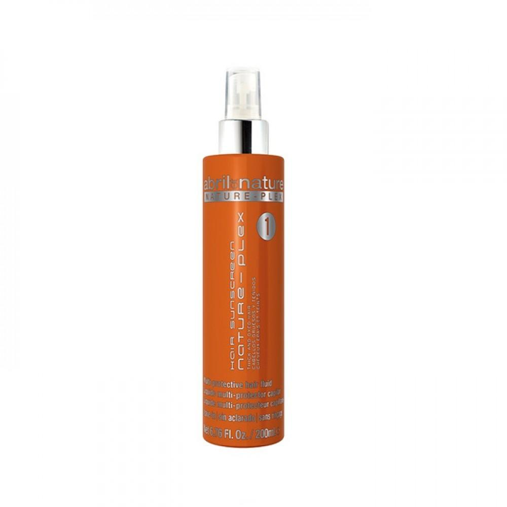 Двухфазный спрей для окрашенных и густых волос - Abril et Nature Nature-Plex Hair Sunscreen Spray 1