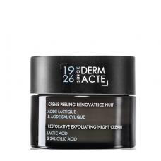 Нічний відновлюючий крем-ексфоліант - Academie Derm Acte Restorative Exfoliating Night Cream