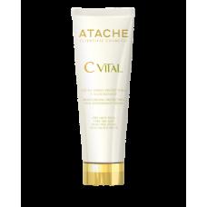 Гидрозащитный и антиоксидантный крем для сухой и очень сухой кожи лица - Atache C Vital Cream Very Dry Skin