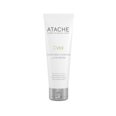 Гидрозащитный и антиоксидантный крем для нормальной и сухой кожи - Atache C Vital Cream Normal & Dry Skin