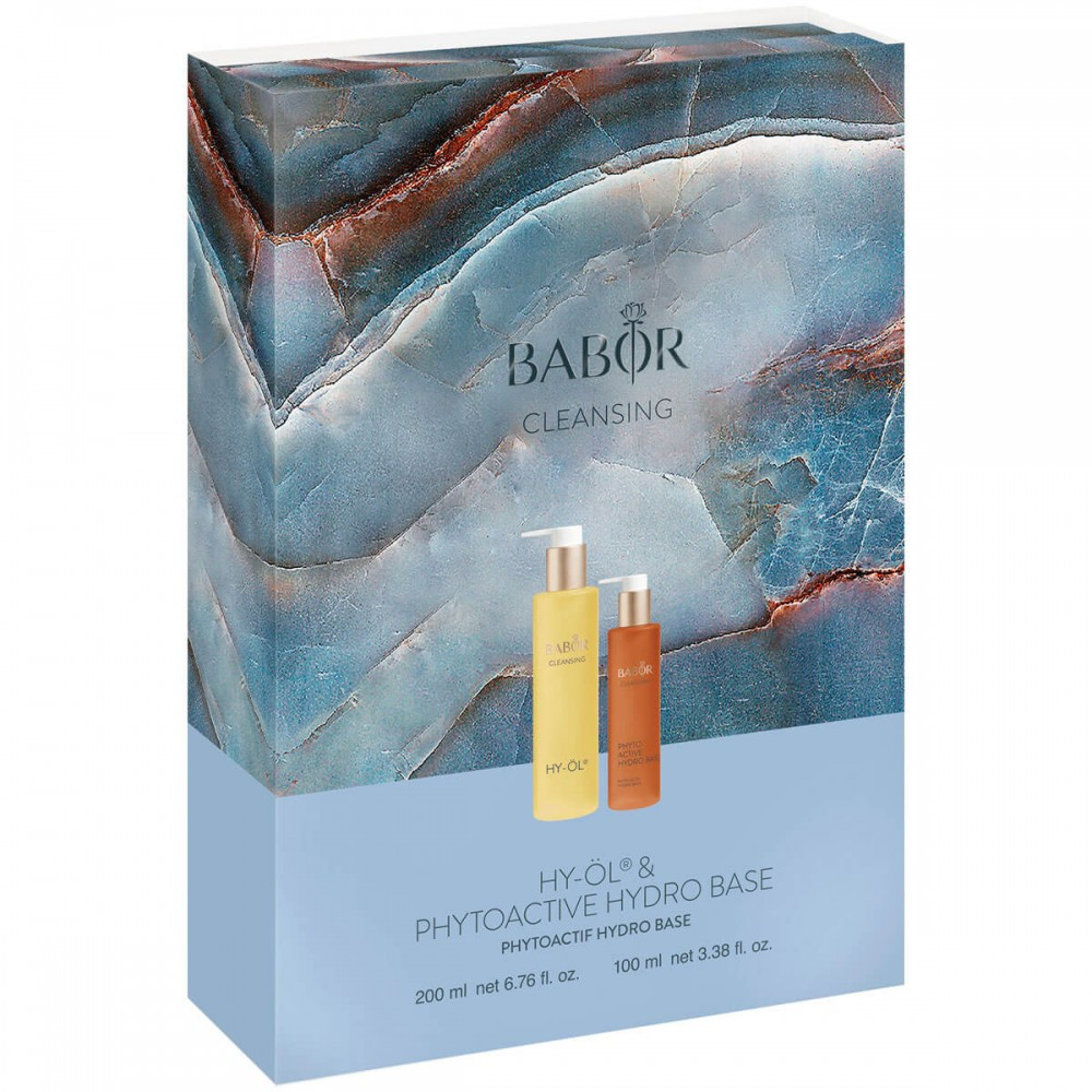 Дуэт-Набор «Гидрофильное очищение для сухой кожи» - Babor Promotion Set HY-OL + HYDRO BASE