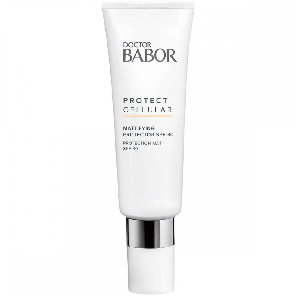 Защитный Крем с Матирующим Эффектом - Babor Protect Cellular Mattifying Protector SPF 30