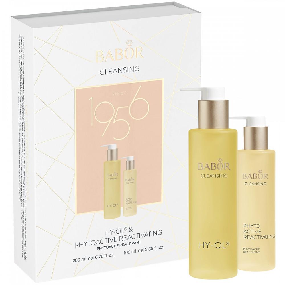 Дуэт-Набор «Гидрофильное очищение для всех типов кожи» - Babor Promotion Set HY-OL + REACTIVATING