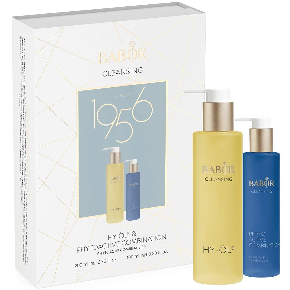 Дуэт-Набор «Гидрофильное очищение для жирной и комбинированной кожи» - Babor Promotion Set HY-OL + COMBINATION