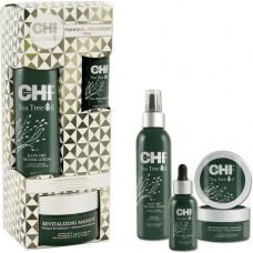Набор для волос чайное дерево «Спокойный уход» - CHI Tea Tree Oil Tranquil Treat