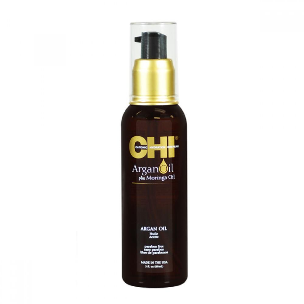 Восстанавливающее масло для волос - CHI Argan Oil 3oz
