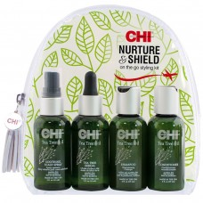 Дорожный набор - CHI Tea Tree Nurture and Shield Kit