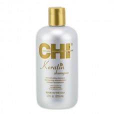 Восстанавливающий кератиновый шампунь - CHI Keratin Reconstructings Shampoo
