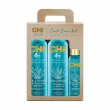 Набор для волос - CHI Aloe Vera Curl Care Kit