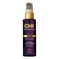 Несмываемая сыворотка-шелк для волос - CHI Deep Brilliance Shine Serum Light Weight Leave-In Treatment