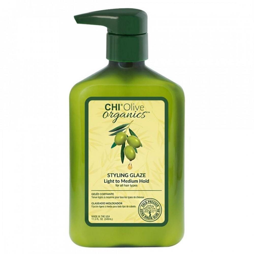Глазурь для укладки на основе оливкового масла - CHI Olive Organics Styling Glaze