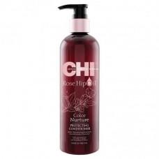 Кондиционер для защиты цвета - CHI Rose Hip Oil Color Nurture Protecting Conditioner