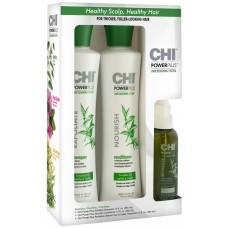 Набор для укрепления и роста волос - CHI Power Plus Hair Renewing System