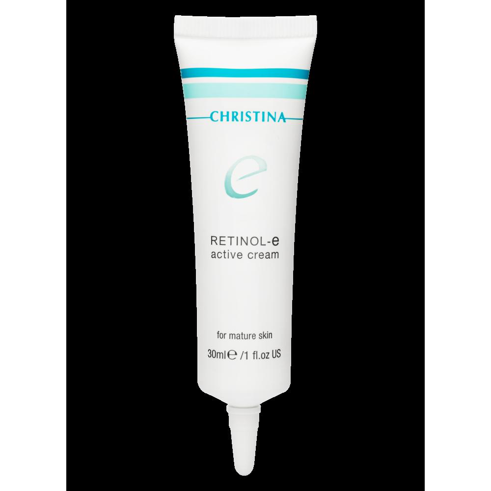 Активный крем для обновления и омоложения кожи лица - Christina Retinol E Active Cream