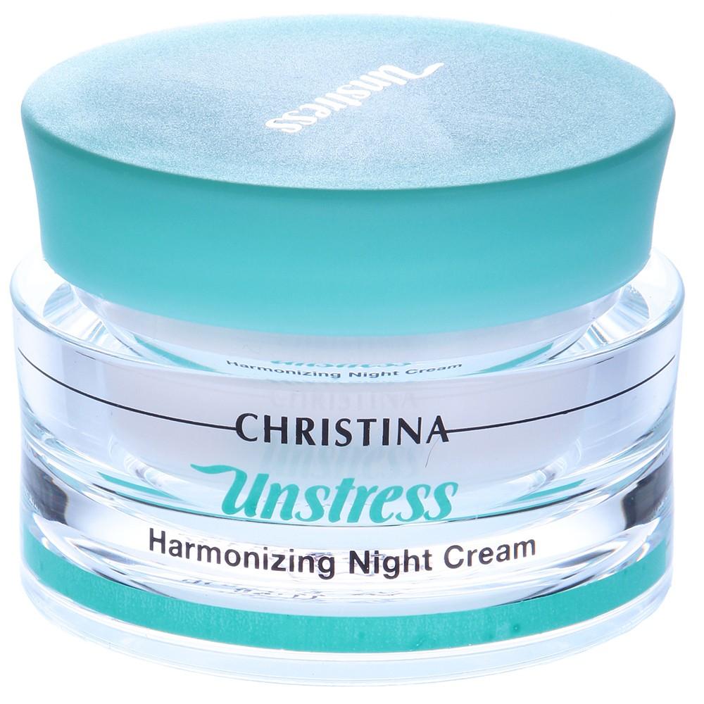 Гармонизирующий ночной крем - Christina Unstress Harmonizing Night Cream