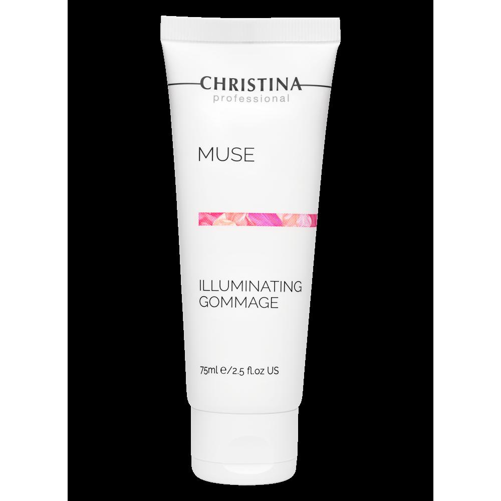 Відлущуючий гоммаж для сяйва шкіри - Christina Muse Illuminating Gommage