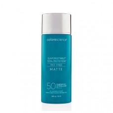 Сонцезахисний крем для обличчя з матуючим ефектом - Colorescience Face Shield Matte SPF 50